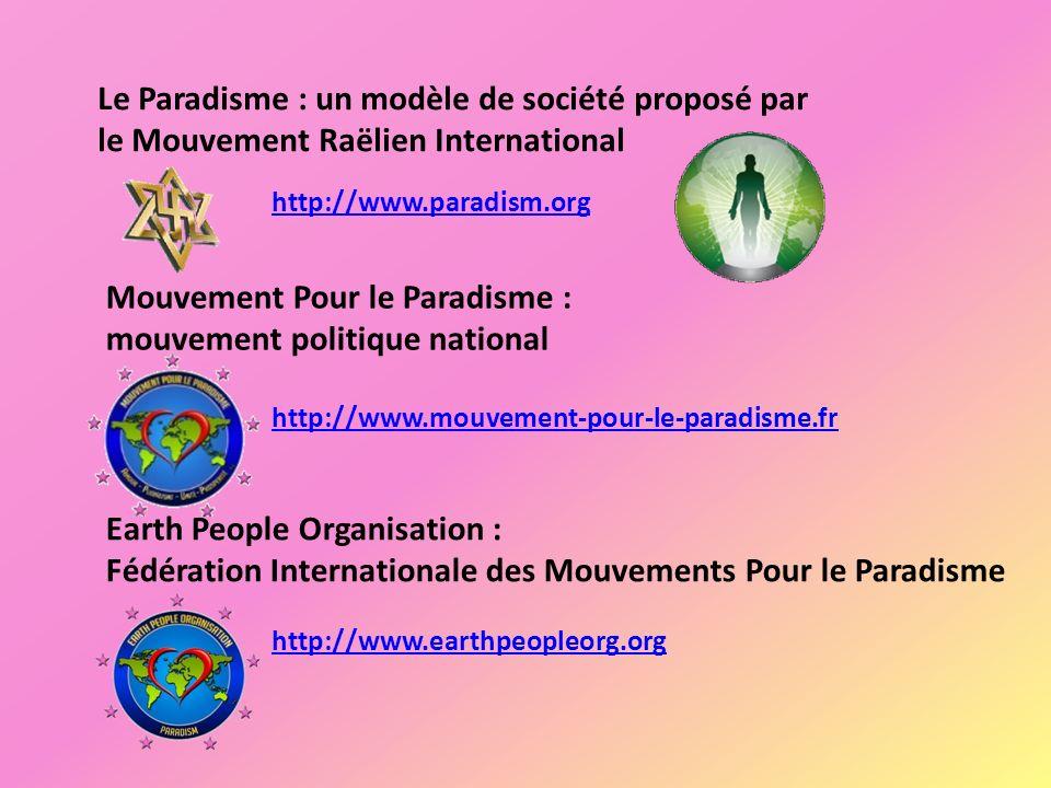 Mouvement Pour le Paradisme : mouvement politique national