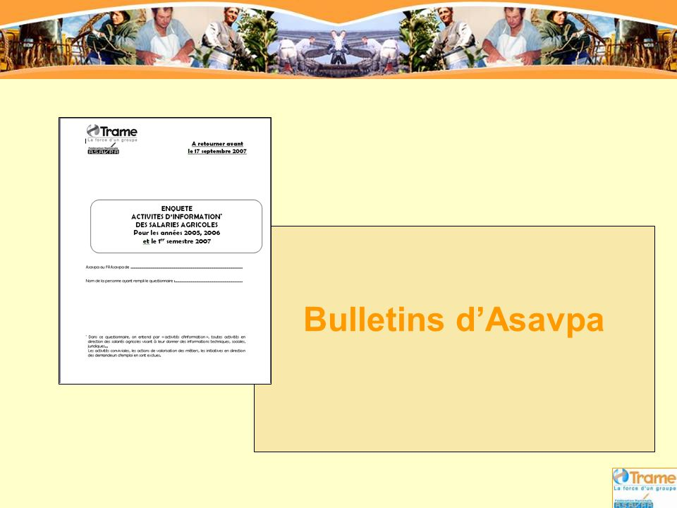 Bulletins d'Asavpa