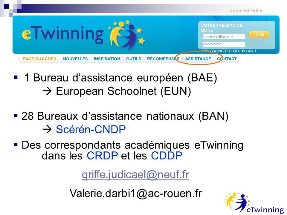 1 Bureau d'assistance européen (BAE)  European Schoolnet (EUN)