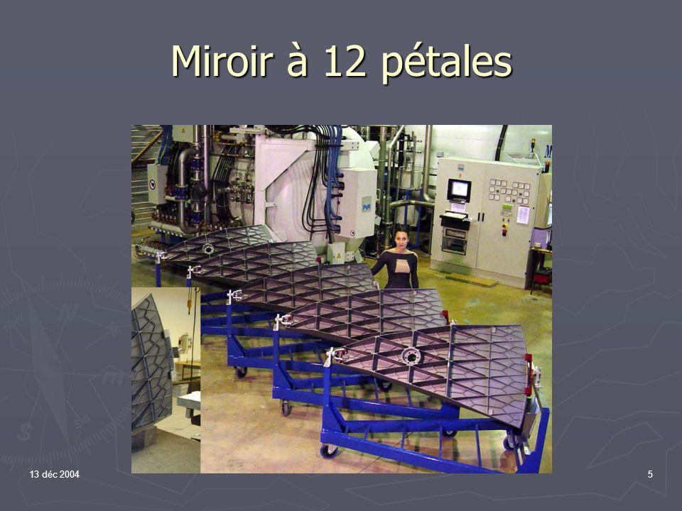 Miroir à 12 pétales 13 déc 2004