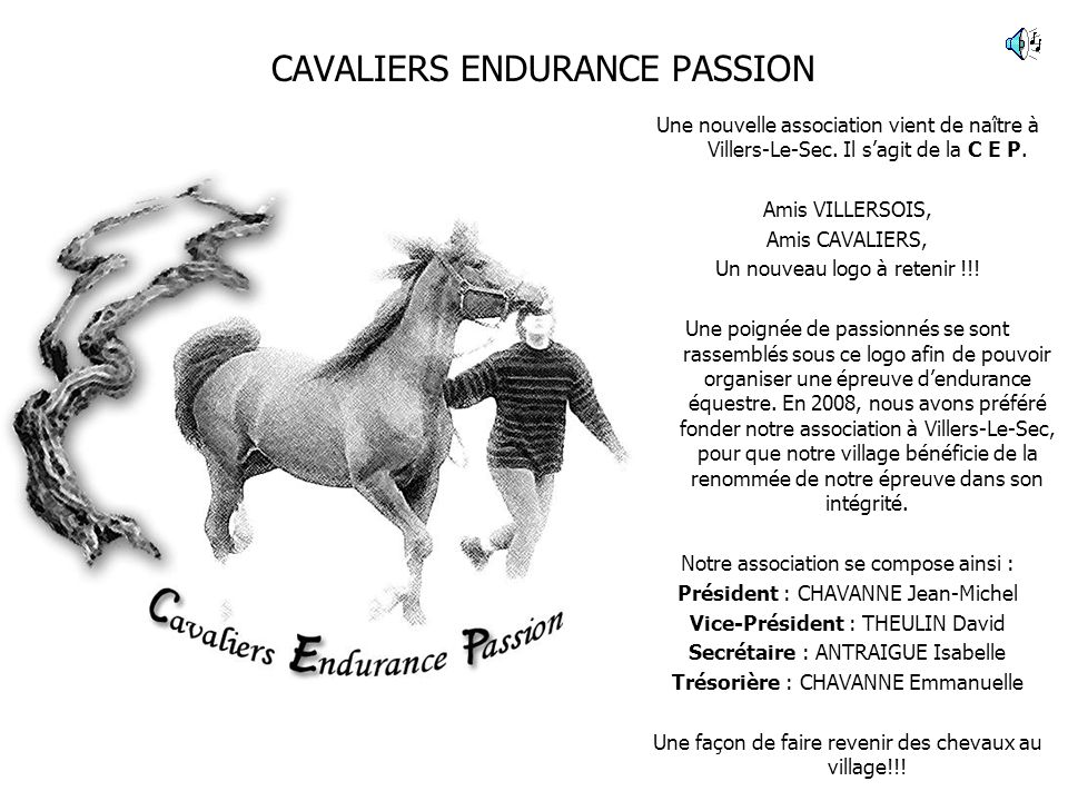 CAVALIERS ENDURANCE PASSION