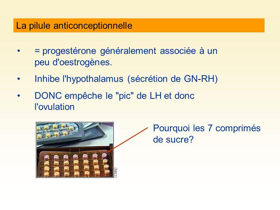 La pilule anticonceptionnelle