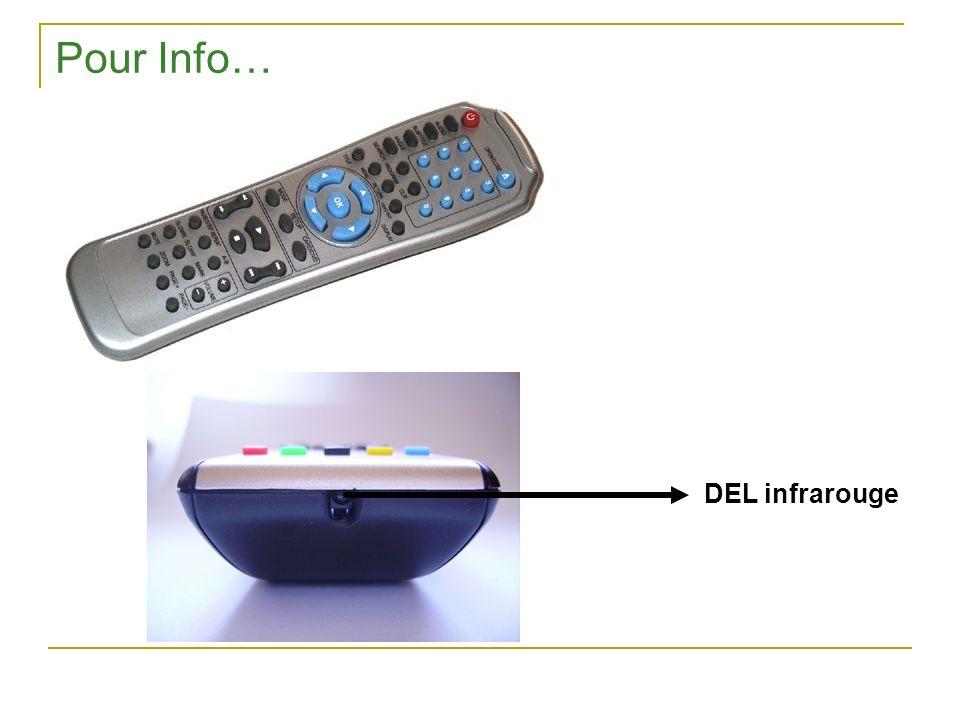 Pour Info… DEL infrarouge