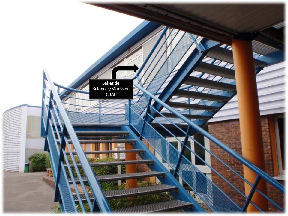 Salles de Sciences/Maths et CRAF