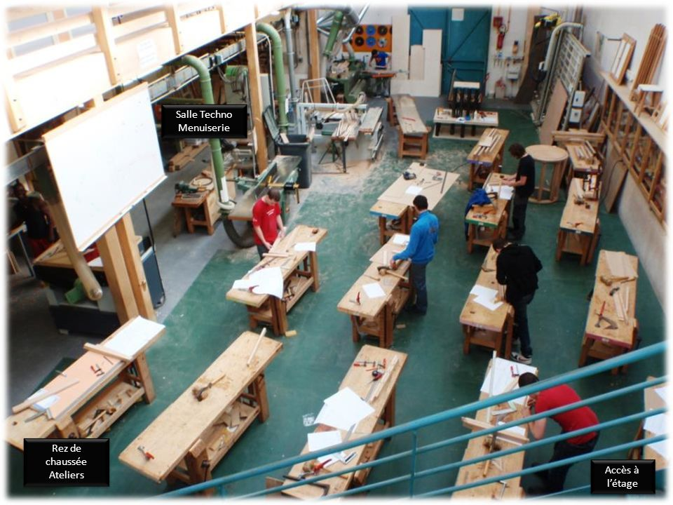 Salle Techno Menuiserie