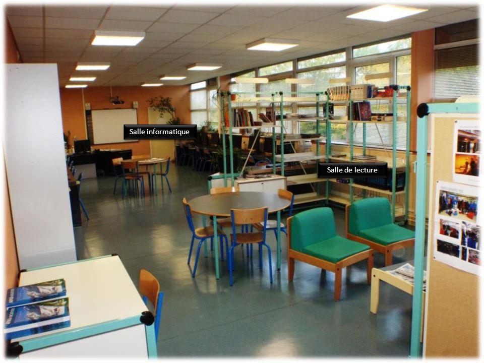 Salle informatique Salle de lecture