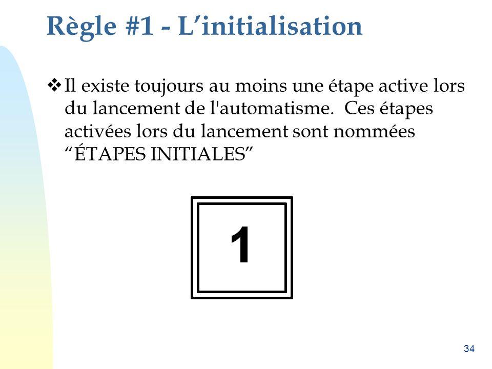 Règle #1 - L'initialisation
