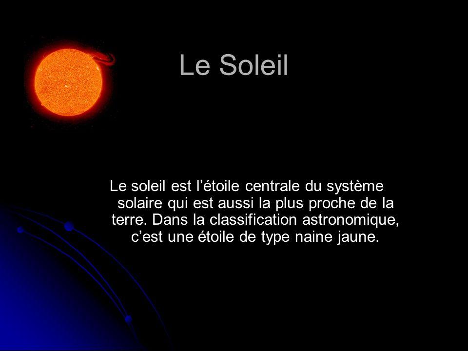 Le Soleil Diamètre moyen 1 392 000 Km