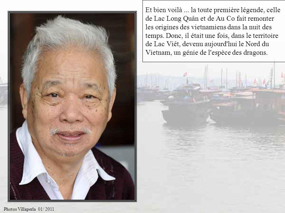 Et bien voilà ... la toute première légende, celle de Lac Long Quân et de Au Co fait remonter les origines des vietnamiens dans la nuit des temps. Donc, il était une fois, dans le territoire de Lac Viêt, devenu aujourd hui le Nord du Vietnam, un génie de l espèce des dragons.