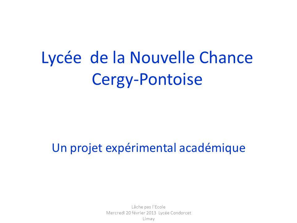 Lycée de la Nouvelle Chance Cergy-Pontoise