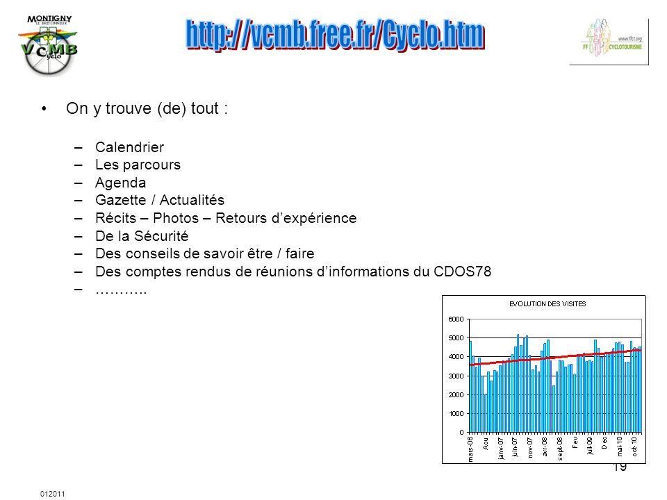 http://vcmb.free.fr/Cyclo.htm On y trouve (de) tout : Calendrier