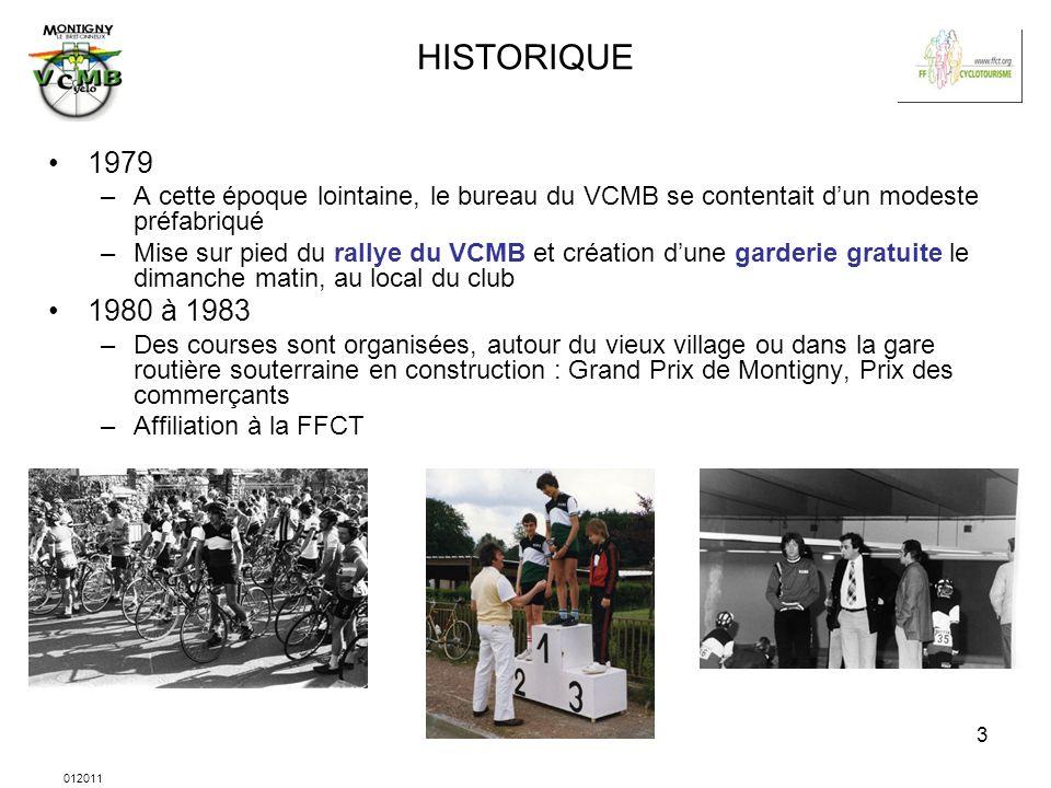 HISTORIQUE 1979. A cette époque lointaine, le bureau du VCMB se contentait d'un modeste préfabriqué.