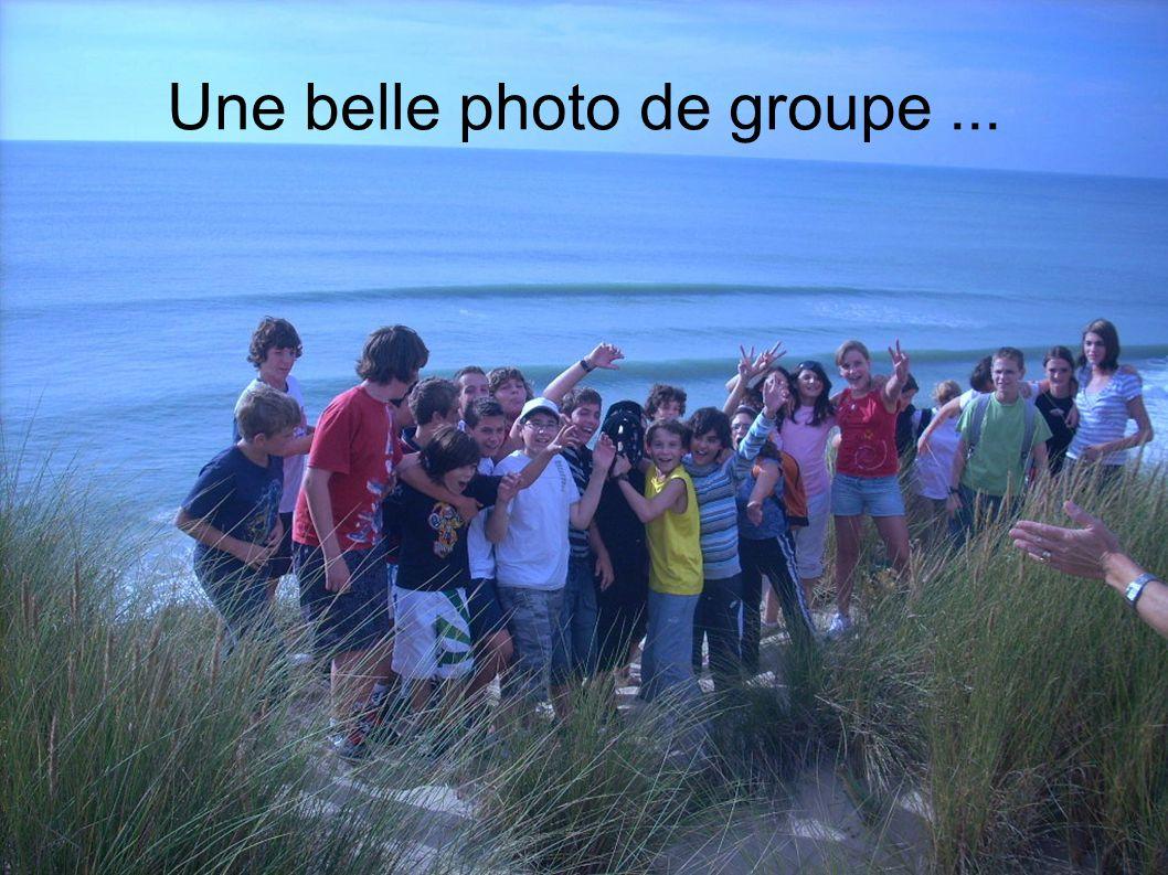 Une belle photo de groupe ...