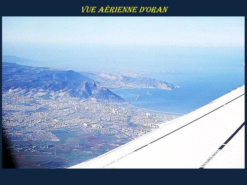 Vue aérienne d'ORAN