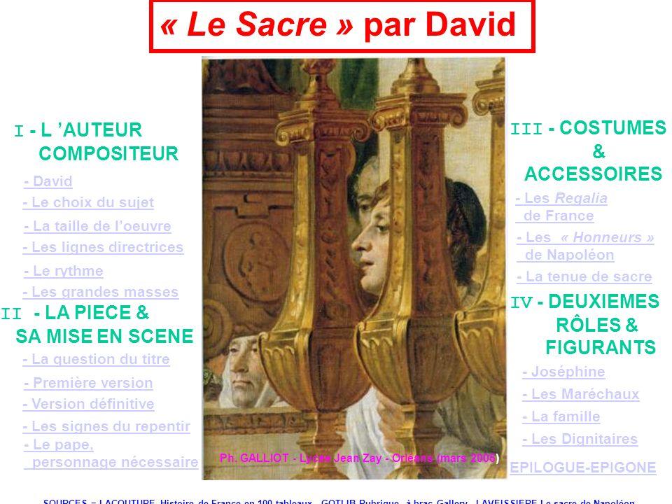 « Le Sacre » par David I - L 'AUTEUR