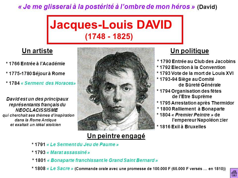 Jacques-Louis DAVID (1748 - 1825)