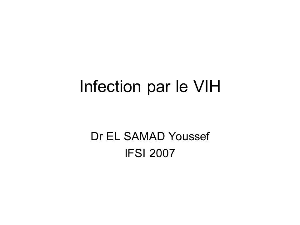 Dr EL SAMAD Youssef IFSI 2007