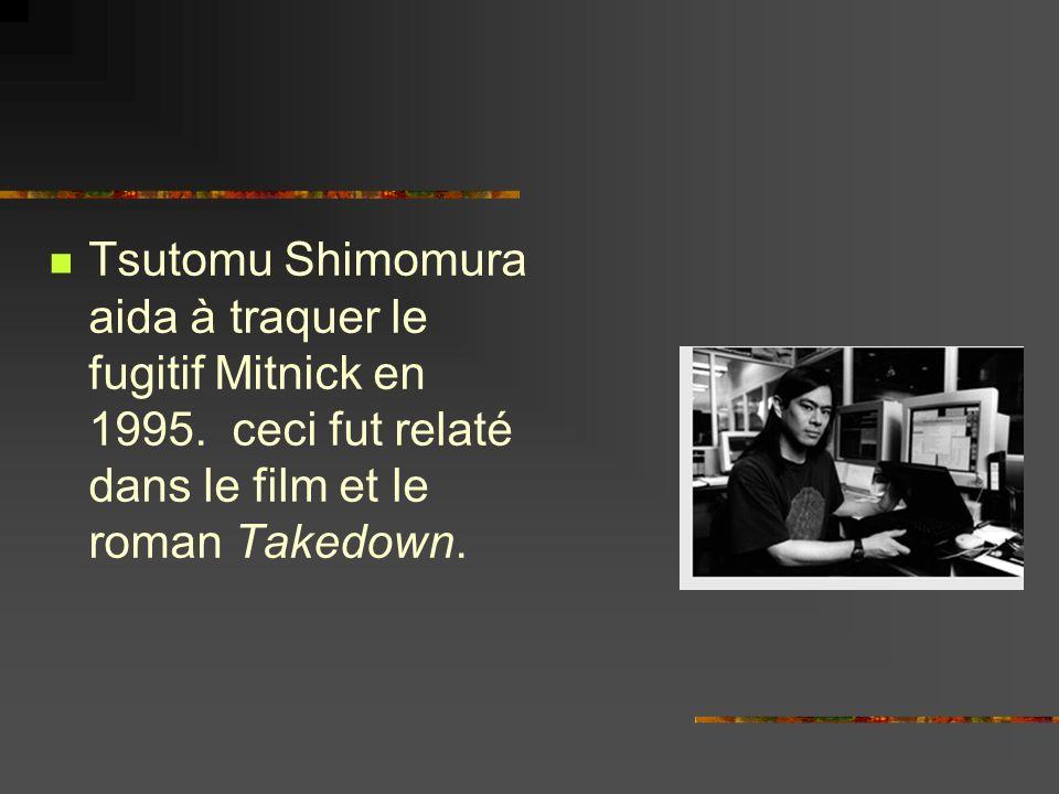 Tsutomu Shimomura aida à traquer le fugitif Mitnick en 1995