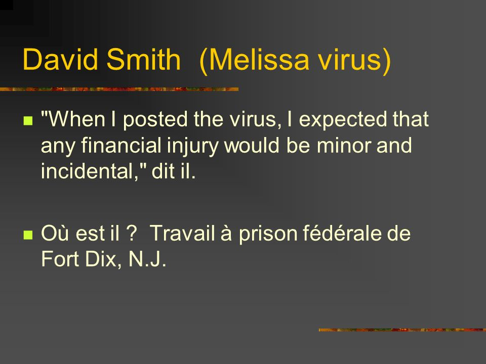 David Smith (Melissa virus)