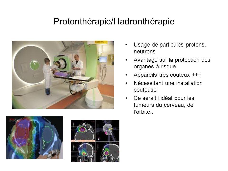 Protonthérapie/Hadronthérapie