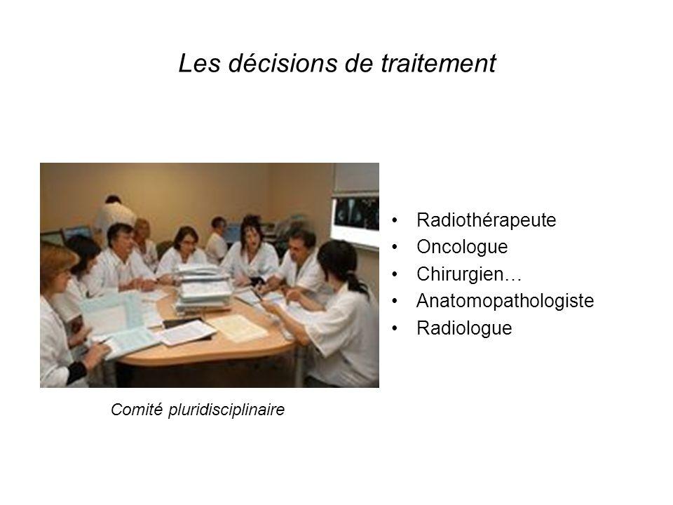 Les décisions de traitement