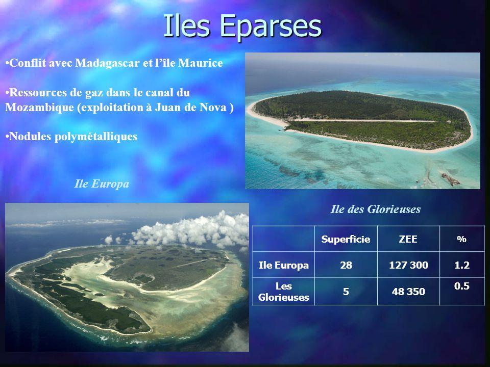 Iles Eparses Conflit avec Madagascar et l'île Maurice