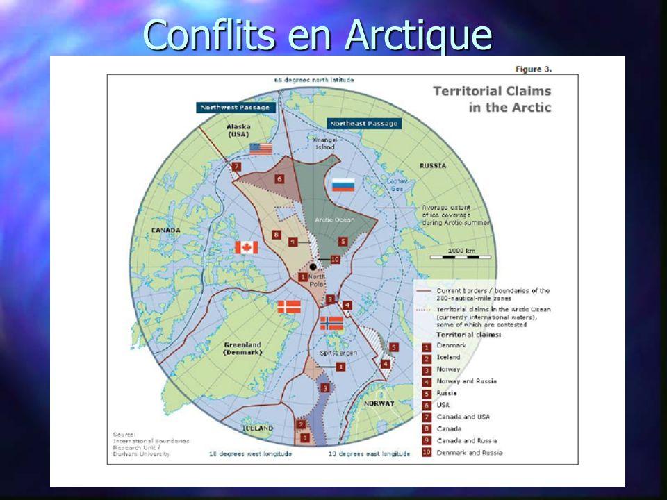 Conflits en Arctique