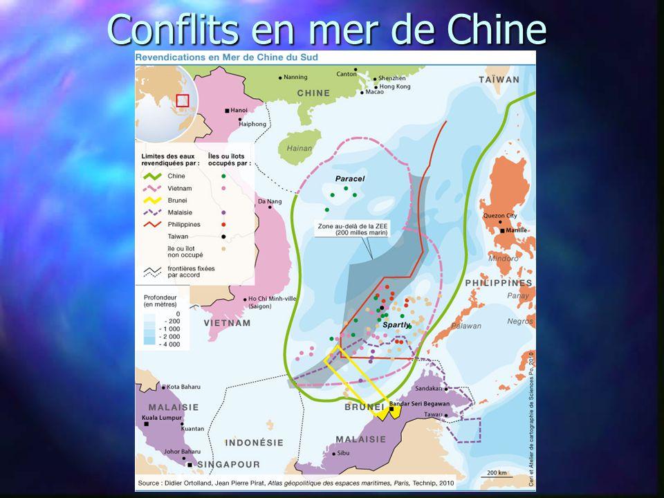 Conflits en mer de Chine
