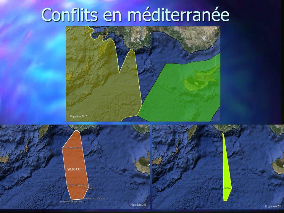 Conflits en méditerranée