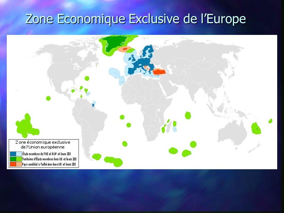 Zone Economique Exclusive de l'Europe