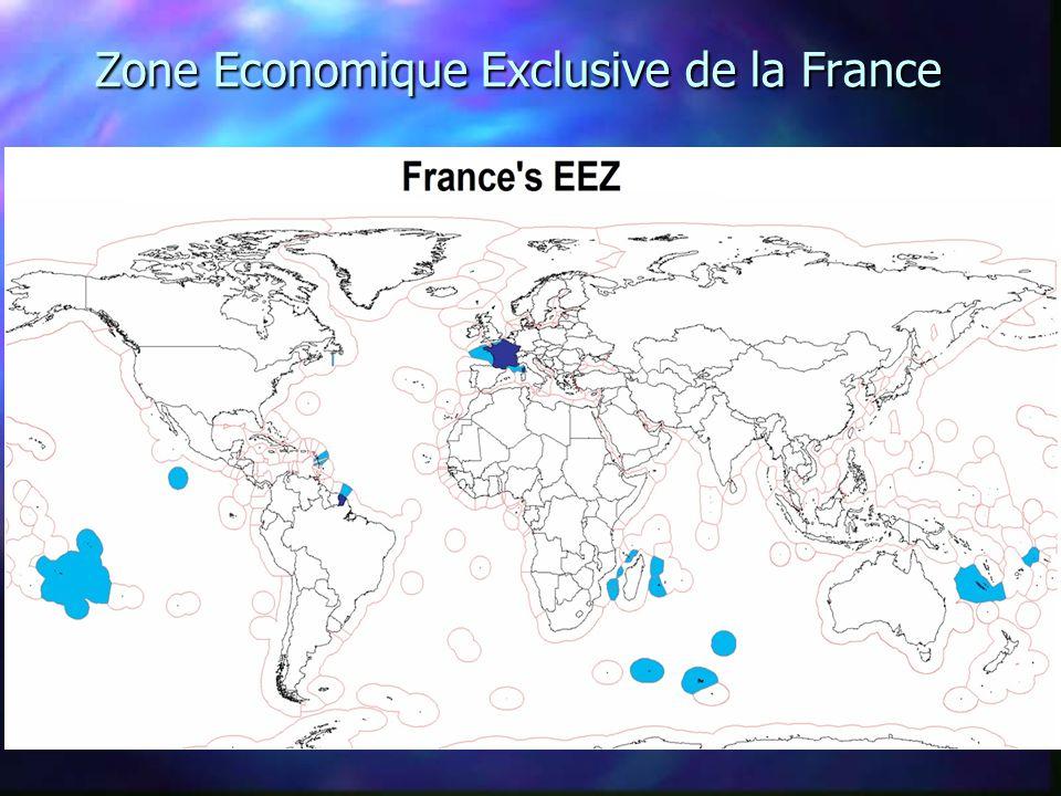 Zone Economique Exclusive de la France