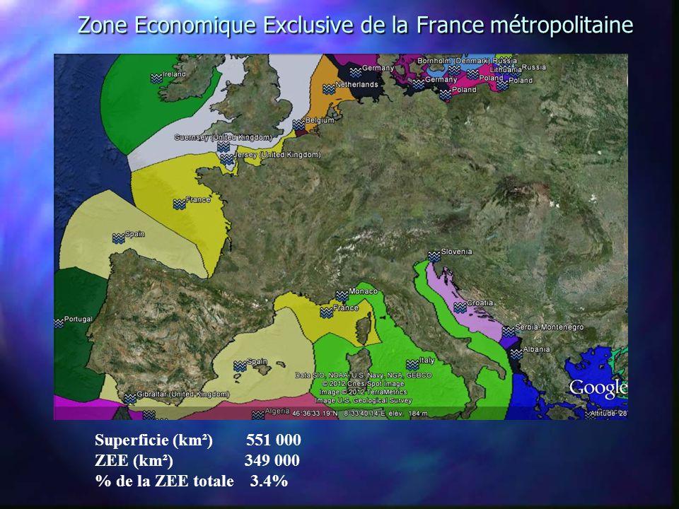 Zone Economique Exclusive de la France métropolitaine