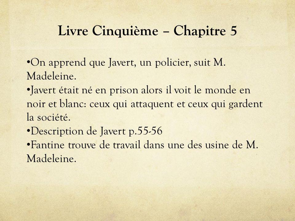 Livre Cinquième – Chapitre 5