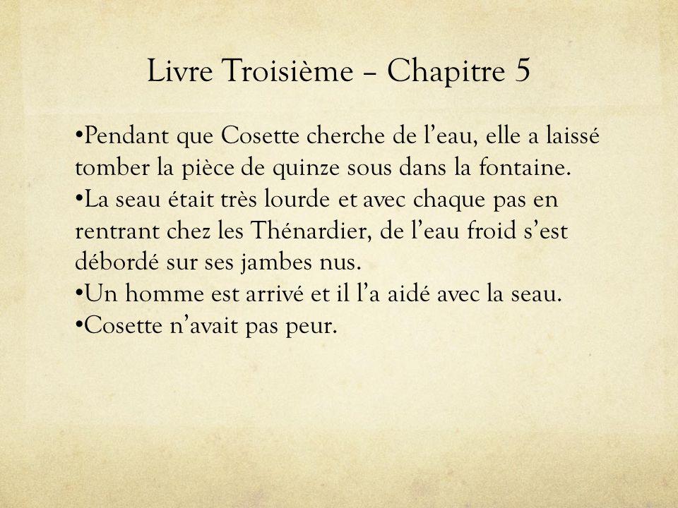 Livre Troisième – Chapitre 5