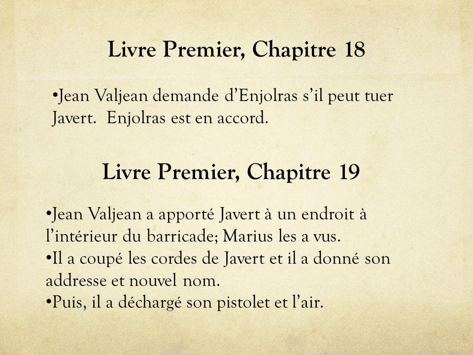 Livre Premier, Chapitre 18