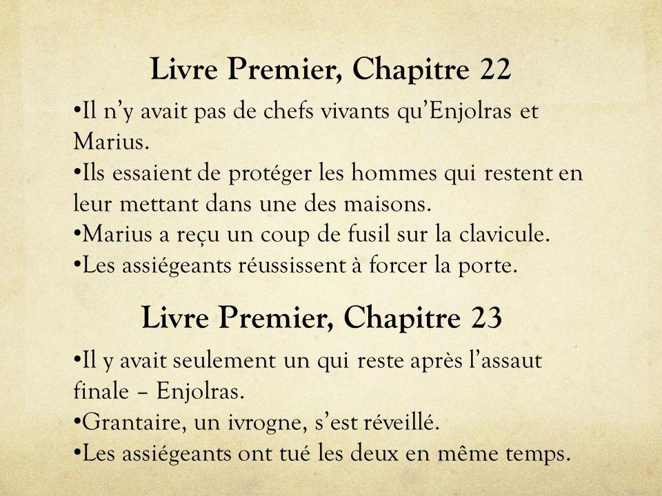 Livre Premier, Chapitre 22