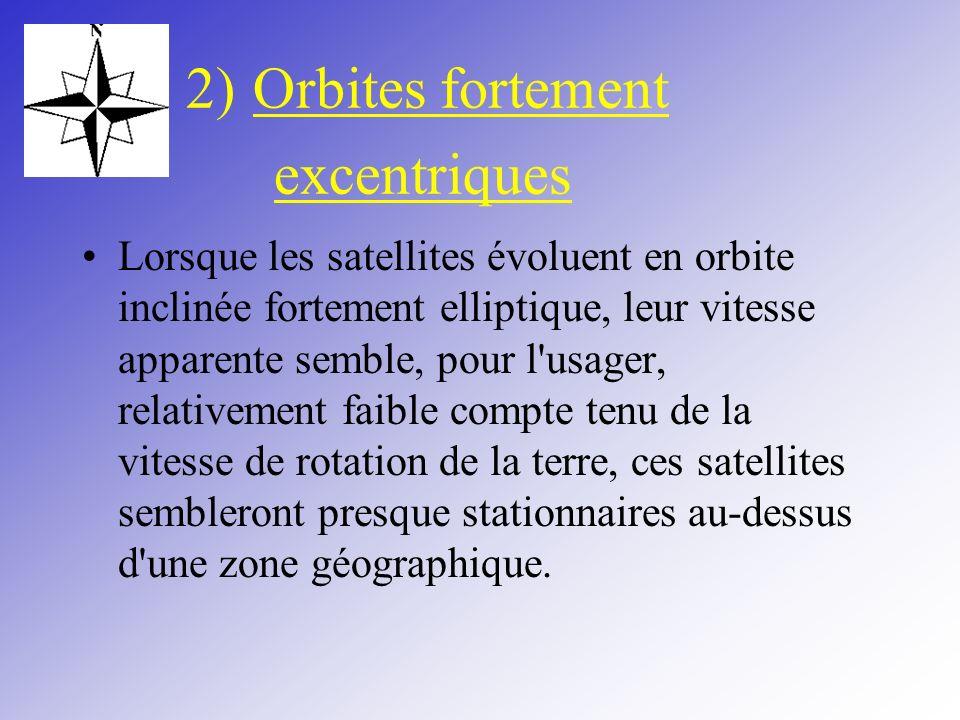 2) Orbites fortement excentriques