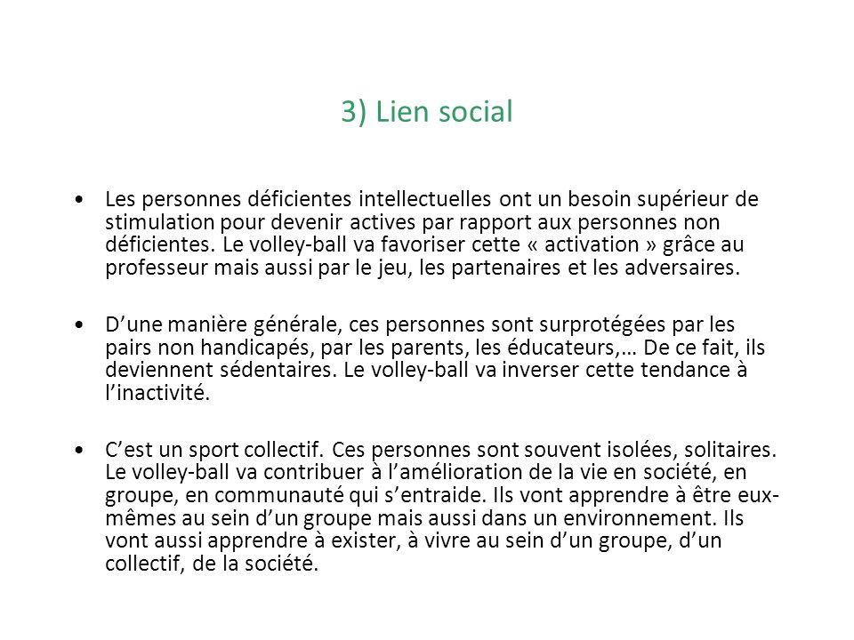 3) Lien social
