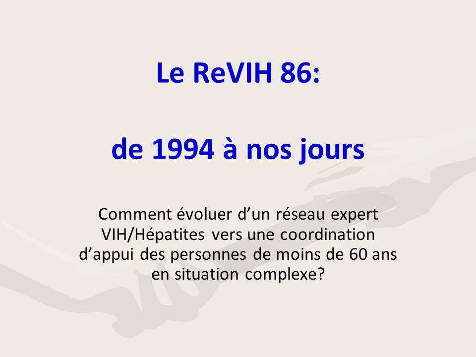 Le ReVIH 86: de 1994 à nos jours