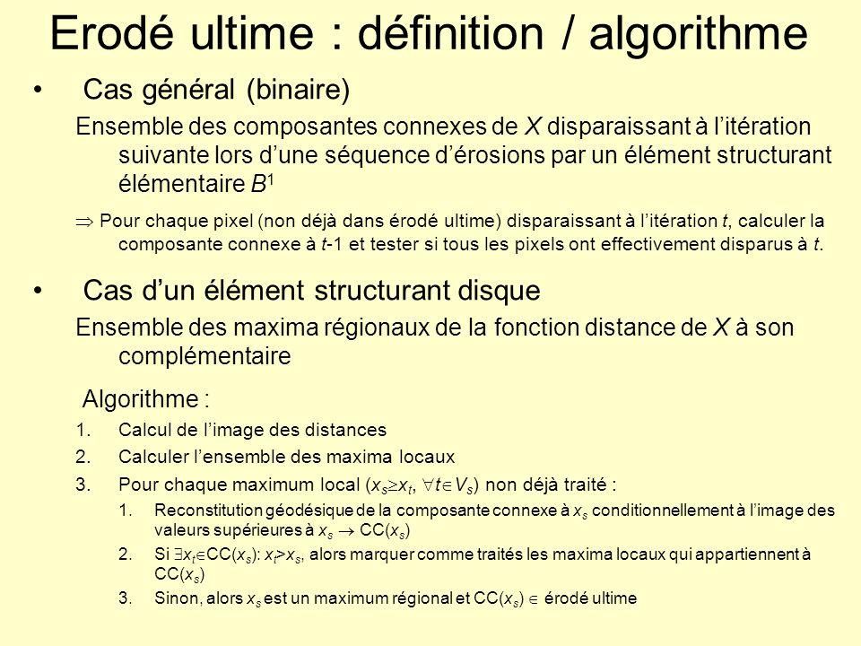 Erodé ultime : définition / algorithme
