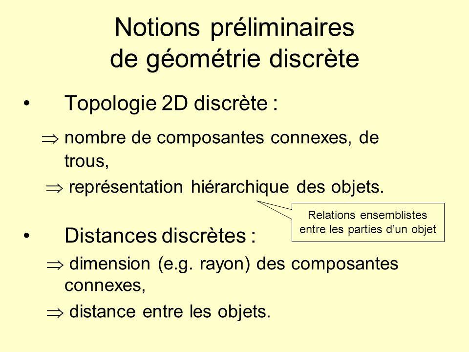 Notions préliminaires de géométrie discrète