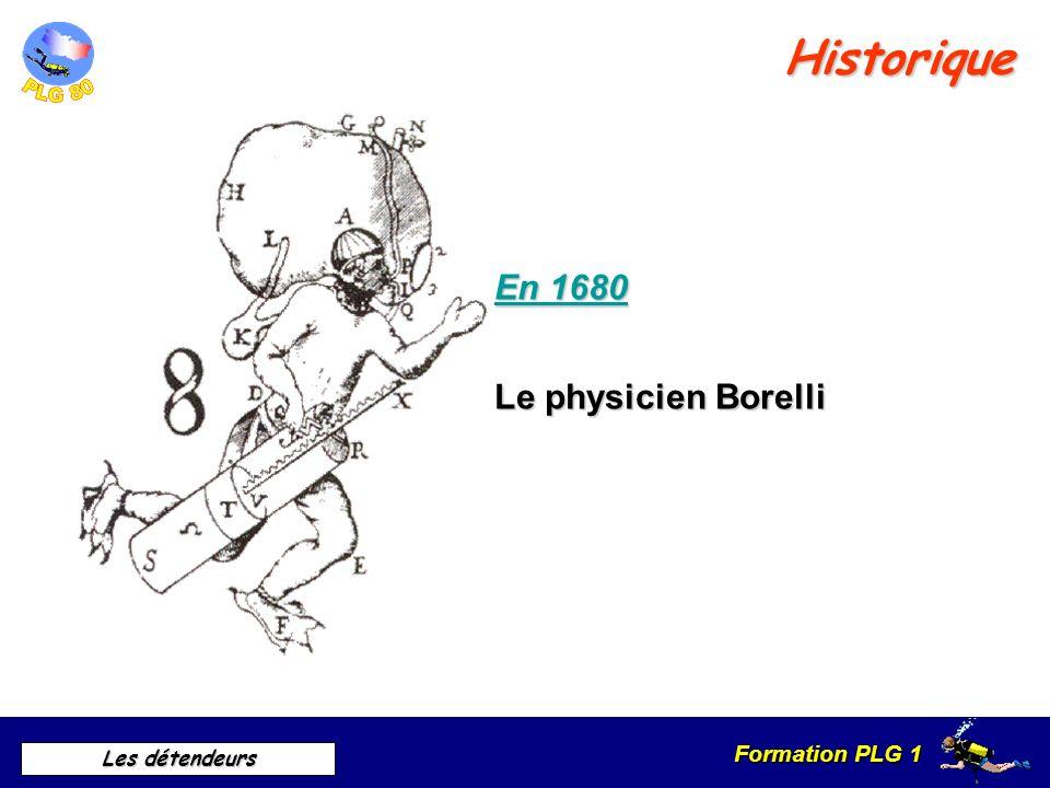 Historique En 1680 Le physicien Borelli A. Historique · En 1680