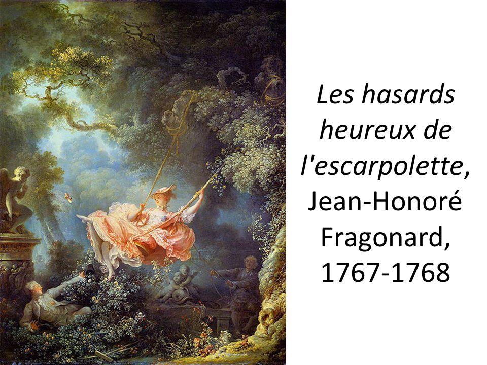 Les hasards heureux de l escarpolette, Jean-Honoré Fragonard, 1767-1768
