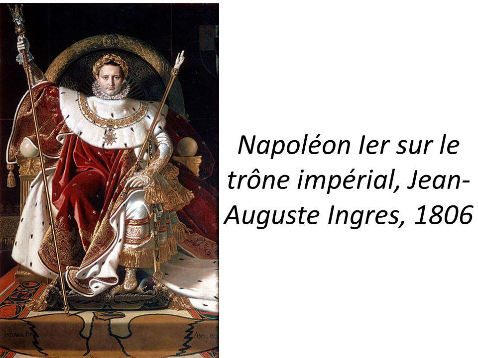 Napoléon Ier sur le trône impérial, Jean-Auguste Ingres, 1806