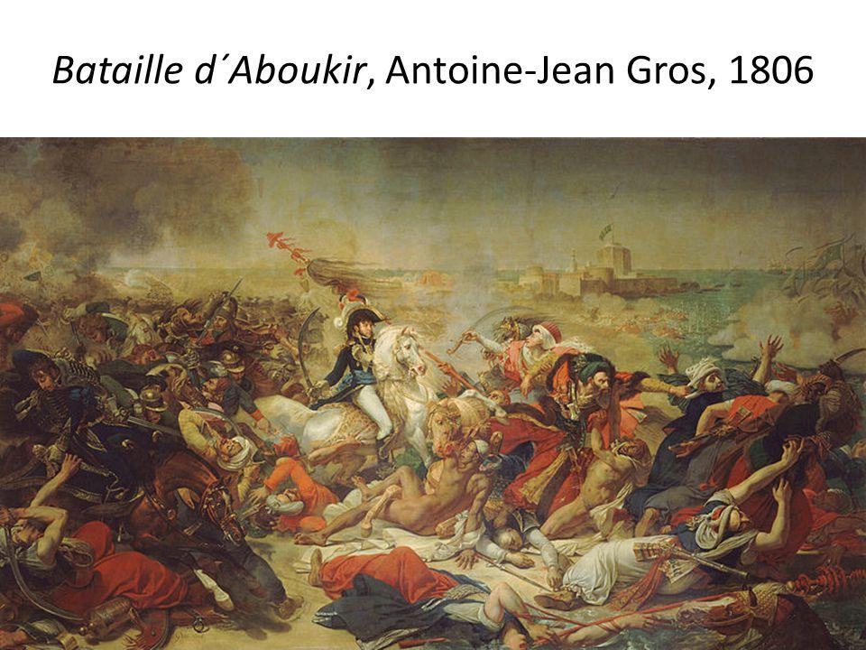 Bataille d´Aboukir, Antoine-Jean Gros, 1806