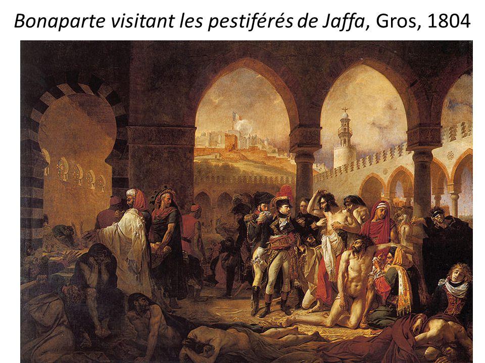 Bonaparte visitant les pestiférés de Jaffa, Gros, 1804