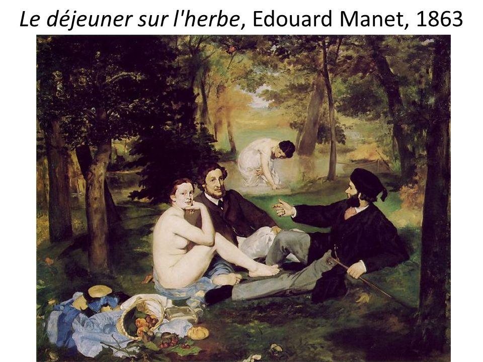 Le déjeuner sur l herbe, Edouard Manet, 1863