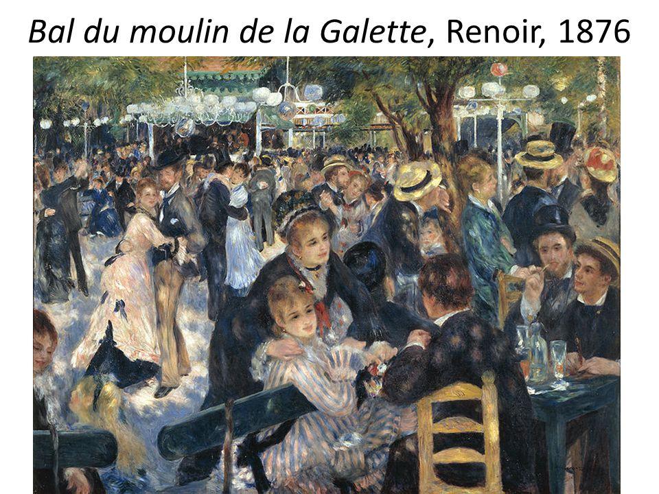 Bal du moulin de la Galette, Renoir, 1876