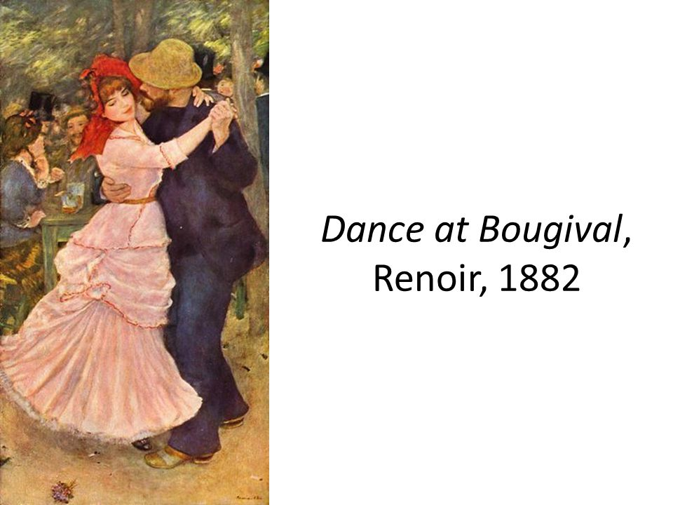 Dance at Bougival, Renoir, 1882