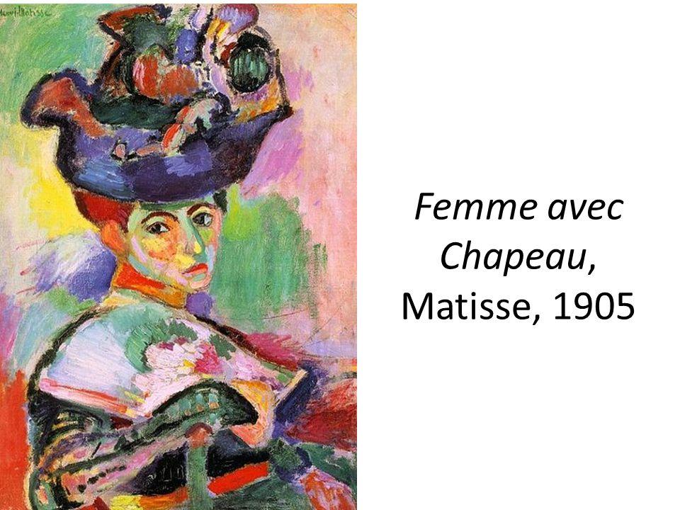 Femme avec Chapeau, Matisse, 1905
